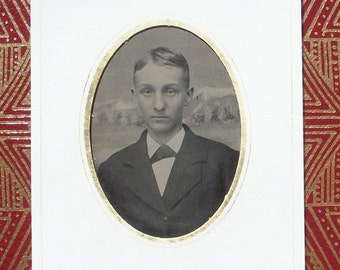 Tintype - Young Man, Sweet & Innocent