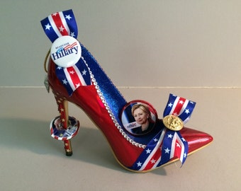 "Hillary High Heel: "" I'm With Her"""