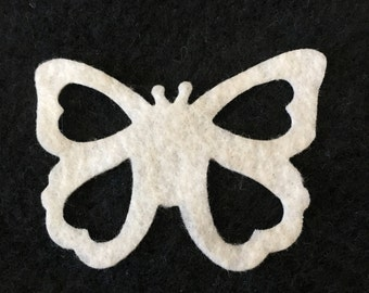 Felt Lacy Butterfly Shapes for Wax Dipping-DIY Kits for Independent Consultants- Parties- Accessories Decorations-Costume Embellishments