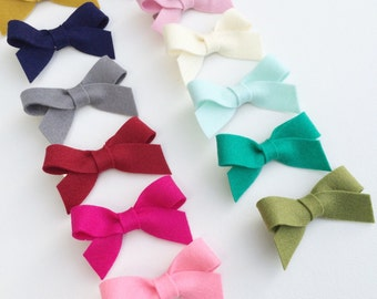 Basic bows-clips or headband
