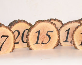 Wedding Table Number Large Standing numbers ~ Beautiful Hardwood Numbers  ~  Rustic Woodland Country wedding ~ Corporate parties ~ Birthday
