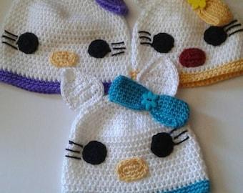 Toddler Hello Kitty beanies
