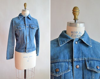 Vintage BAY RIDER denim jacket