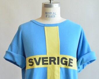 30% off storewide /// Vintage 1970s SWEDISH sweatshirt