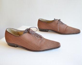 Vintage TOKIO KUMAGAI woven linen shoes / 5