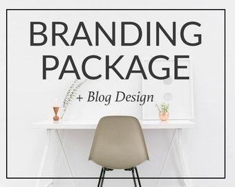 Custom Logo Design and Branding Package - Sarah Types Custom Blog Design
