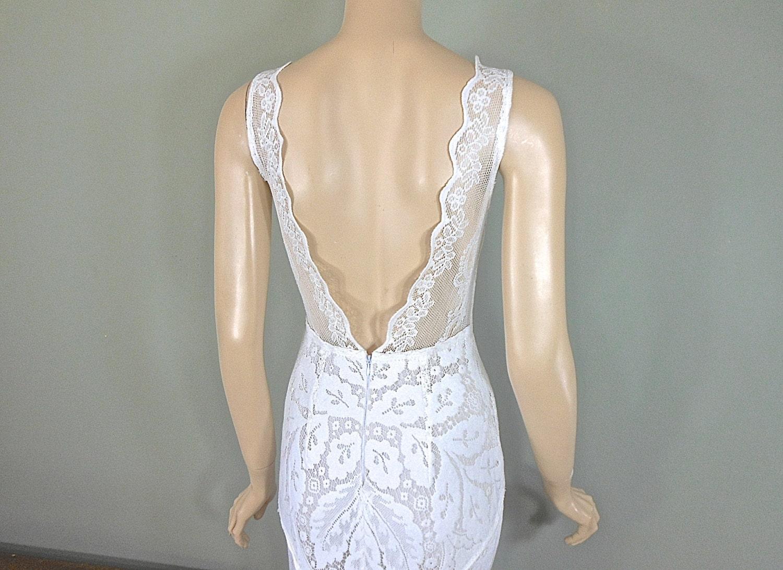 Simple Wedding Dresses BOHEMIAN Wedding Dress VINTAGE Lace