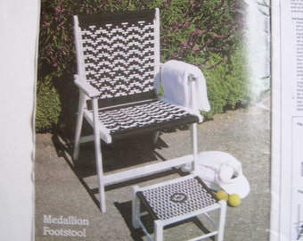 Chair Macrame Pattern Book - Lawn Chair Patterns for Macrame