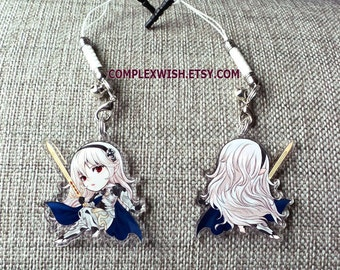 Reversible Fire Emblem Fates Charm - Female Corrin