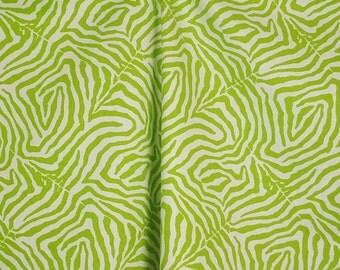 Waverly Wildlife Lime Green Animal Fabric