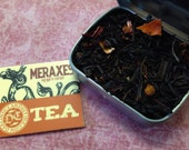 Sample tin: Meraxes loose Lapsang Souchong tea blend