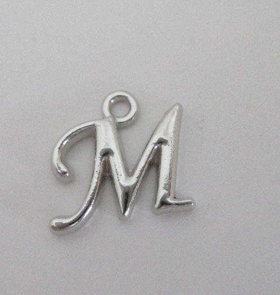 m letter in silver - photo #6