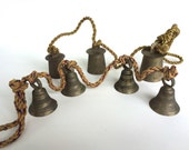 Vintage Brass Bells Made in India