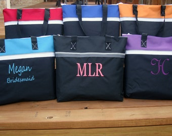 Wholesale Price Bridesmaid Gift Bag, Bridesmaid Gift Tote Bag, Bride's Tote Bag in 6 Colors, Maid of Honor, Matron of Honor