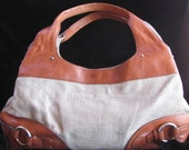Sigrid Olsen Canvas and Leather Shoulder bag