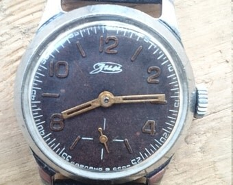 Mens watch, ladies watch, unisex watch RARE Old soviet Zim watch from 1950s