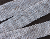 Handwoven Cotton Strap, Historic Reenactor, Carrying Strap, Powder Horn, Quiver, Shoulder Bag