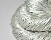 Fading silver ghost - Silk Tape Lace Yarn - SUMMER EDITION
