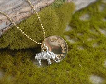 Elephant Courage Necklace