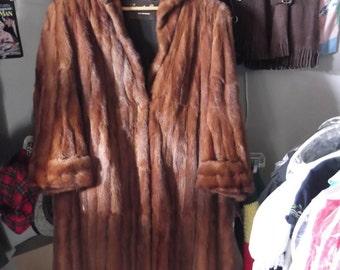 1940s Mink Coat,  sz L