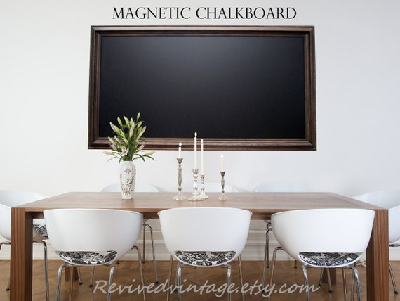 EXTRA LARGE MAGNETIC Chalkboard For Sale Oil Rubbed Bronze