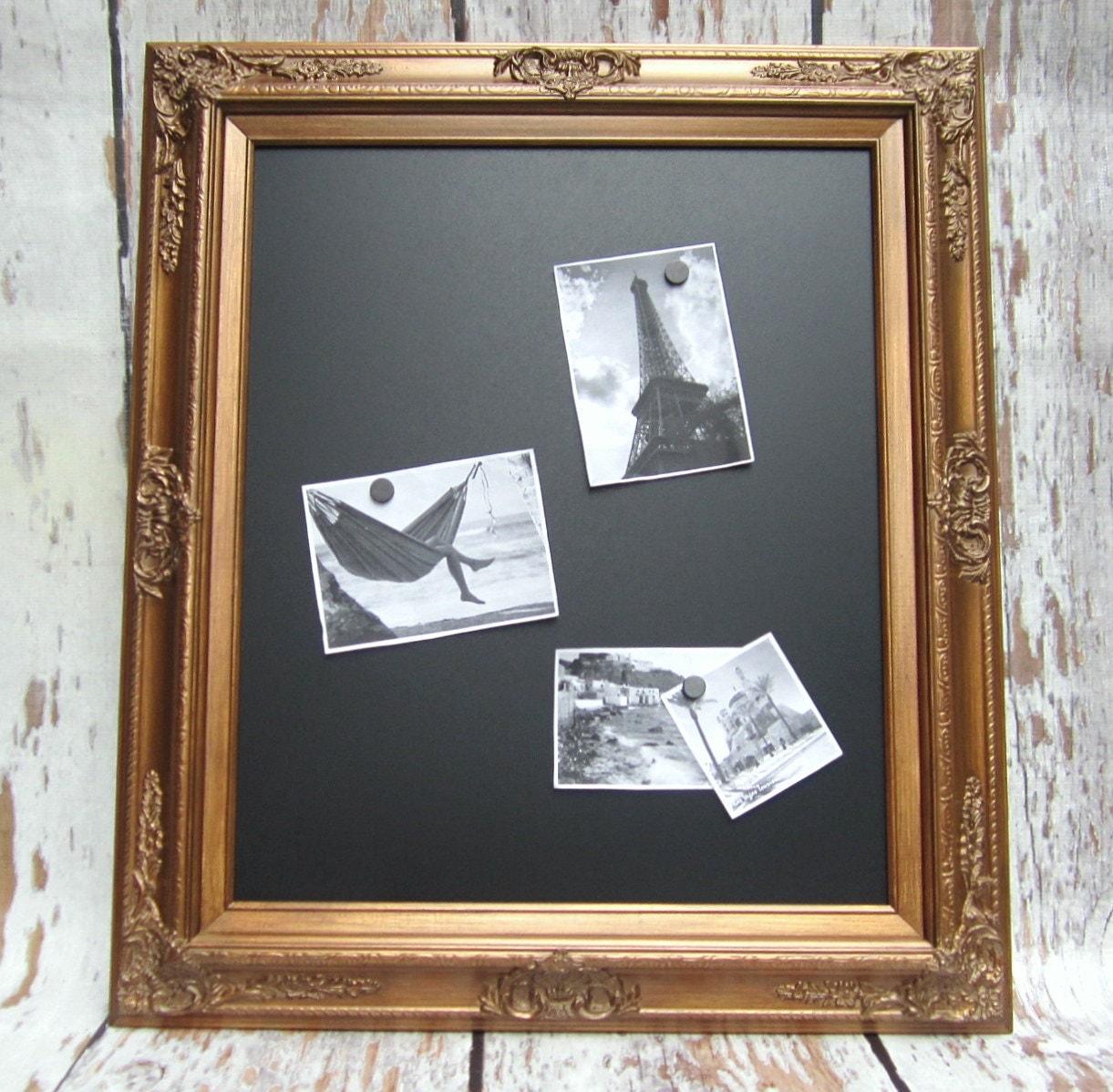 Decorative Framed Chalkboards For Home Baroque Wood Framed