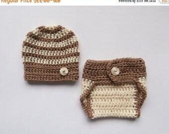 PROMO 10% PROMO Baby Boy Crochet Outfit _ NewBorn Photo Prop Outfit _ Baby Take Home Outfit _ NewBorn Baby Crochet Outfit _ Baby Girl Coming