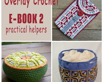 E-Book No. 2 - practical helpers, 3 Pattern in Overlay Crochet, PDF