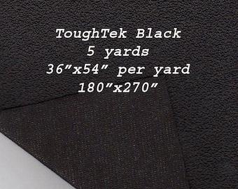 5 yards Toughtek Black Non slip Fabric