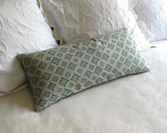 TREVI CAPRI  accent lumbar Bolster Pillow 12x26 insert included