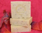 Pomegranate Pear Soap Pom and Pear Cold Processed Soap Vegan Soap Exfoliating Soap