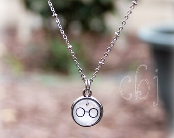 Harry Potter INSPIRED Necklace Pendent, Harry Potter Charm