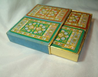 1940s 1950s CONGRESS Persian Oriental Rugs Playing Cards.