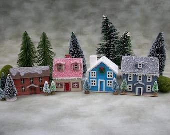 Putz House kit to make 4 houses