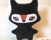 Ninja Fox Handmade Plush Toy