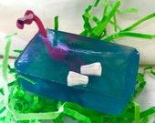 "Flamingo Soap--""Flock To The Bath"""