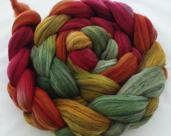 "Hand Dyed Merino/Tencel 4Oz. ""Bollywood"""