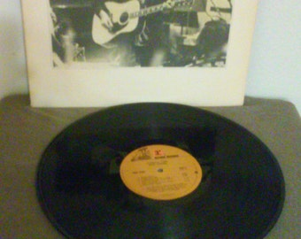 Reduced Price - Neil Young  vinyl record  - Comes a Time - Original - Vintage Record  Lp in Excellent Plus Condition