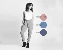 Pastel Sweatpants Joggers Skinny Sweats | Pink Blue Pantones Urban Athleisure | Baggy Skinnysweats Pastel Goth Oversized Loungewear