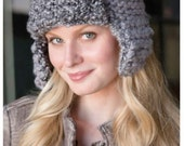 Knitting Pattern Aviator Hat  Instant Download Knitting Pattern Winter Hat Knitted Ear Flaps Hat Unisex Style