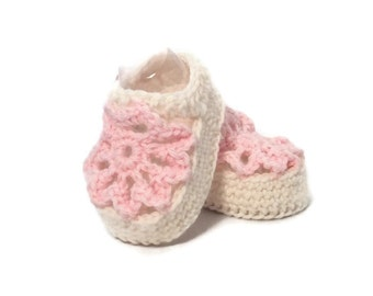 Baby Sandals Crochet Baby Shoes Pink Merino Wool Baby Slippers Knitted Baby Shoes Pink Baby Booties Girl Baby Gift by Warm and Woolly Etsy