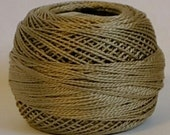 DMC Perle Cotton, Size 8, DMC 642, Dark Beige Gray, Embroidery Thread