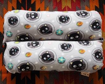 Bunbed Dachshund Dog Bed, Small Dog Bed, Sanrio CHOCOCAT, Gray Black Fleece, Hot Dog Bed Black Kitty Cat, Bun Bed, Kawaii Dog Bed