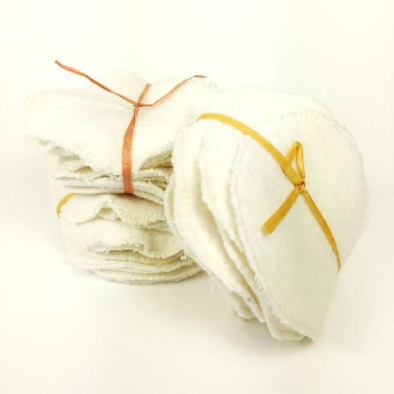 Organic Reusable Cotton Rounds Set Of 10