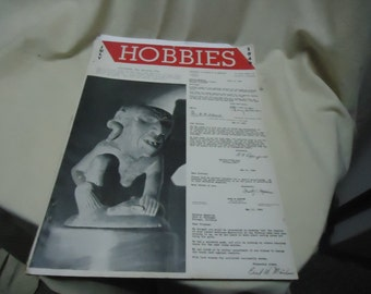 Vintage July 1949 Hobbies Magazine, collectable
