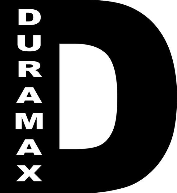 Download Duramax Diesel Logo Vinyl Truck Decal by clydescountrybarn ...