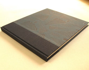 Sketchbook - Journal - Guest Book with Paste Paper