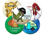 Any 5 Magnets or Buttons- Bulk Discount