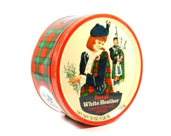 Pascal White Heather Tin