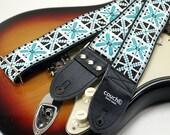 Azul Blue Woven Guitar Strap